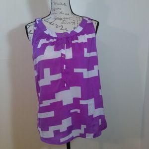 Kenneth Cole pullover top size Large